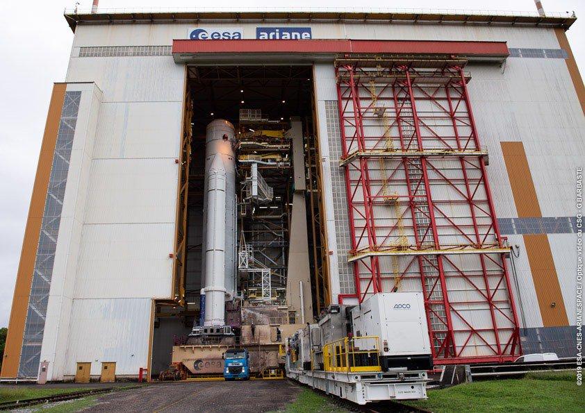 Ariane 5 VA249 (Intelsat 39 + EDRS-C/Hylas-3) - 6.8.2019   1765