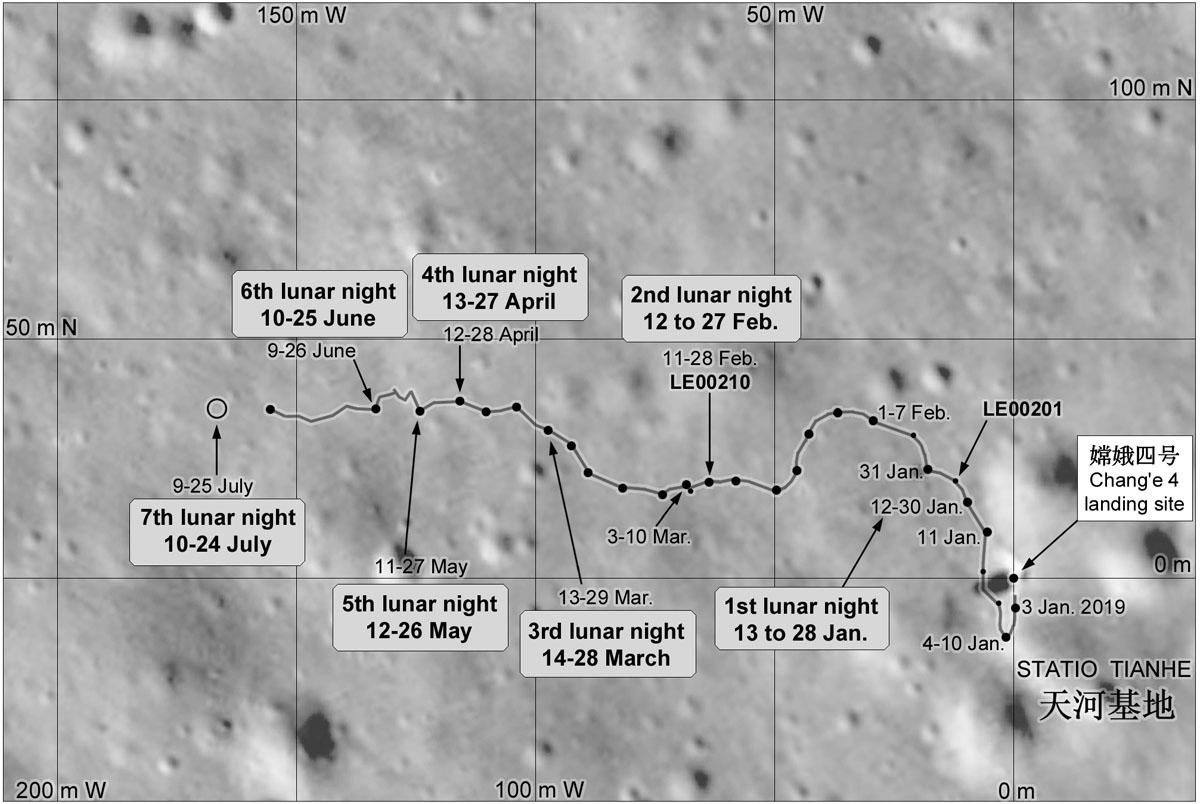Chang'e 4 - Mission sur la face cachée de la Lune (rover Yutu 2) - Page 13 1776