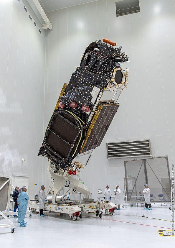 Ariane 5 VA249 (Intelsat 39 + EDRS-C/Hylas-3) - 6.8.2019   1778