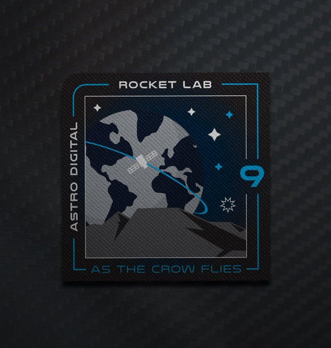 "[Rocket Lab] Electron n°9 ""As the crow flies"" (Palisade) - OnS - 17.10.2019 1910"