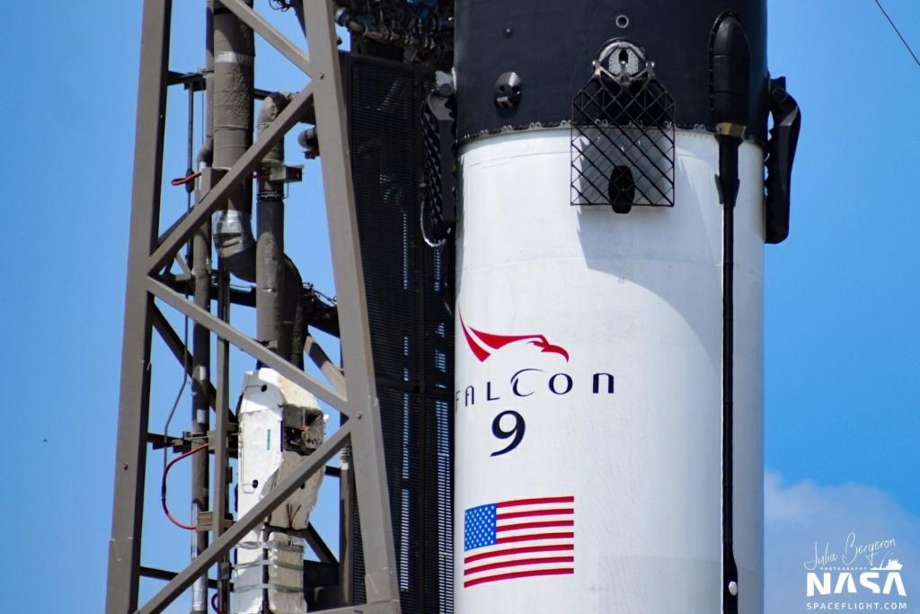 Falcon 9 (GPS III SV03) - CCAFS - 30.6.2020 1_jfi100