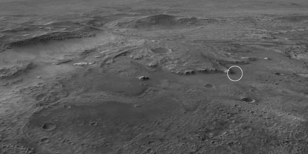 Mars 2020 (Perseverance) Exploration du cratère Jezero 1_jfi194