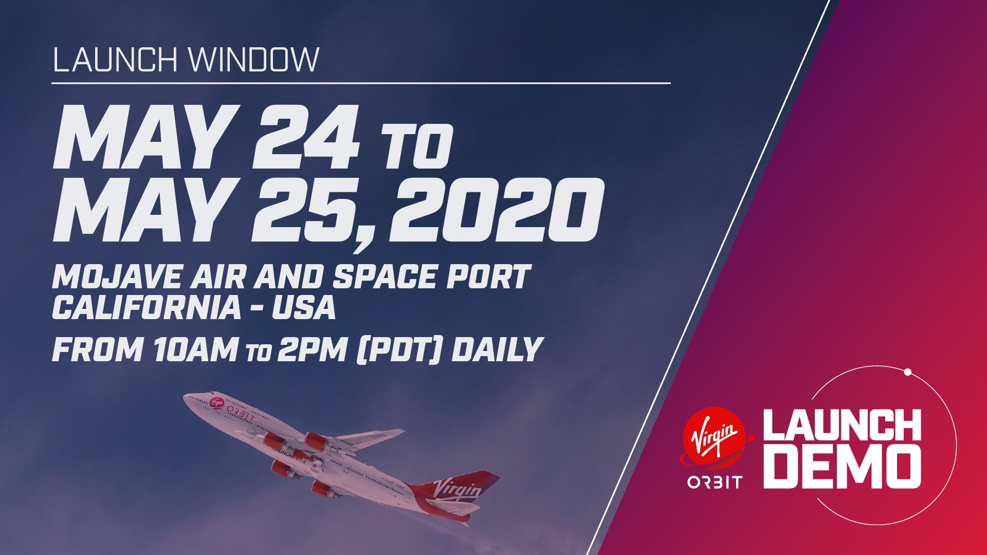 [Virgin Orbit] LauncherOne Demo-1 (Starshine 4 + Intern-Sat) - 25.5.2020 1_jfif46