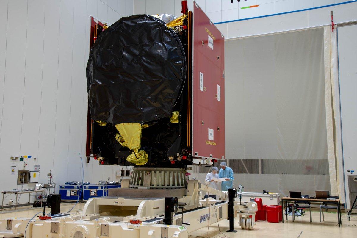 Ariane 5 VA249 (Intelsat 39 + EDRS-C/Hylas-3) - 6.8.2019   2206