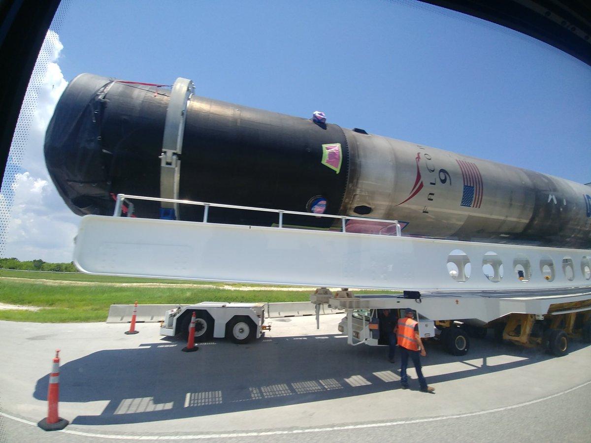 Falcon 9 (CRS-18) - CCAFS - 25.7.2019   2207