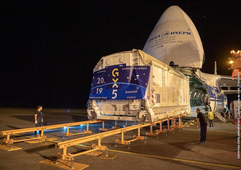 Ariane 5 VA250 (Inmarsat GX5 + TIBA 1) - 26.11.2019   2269