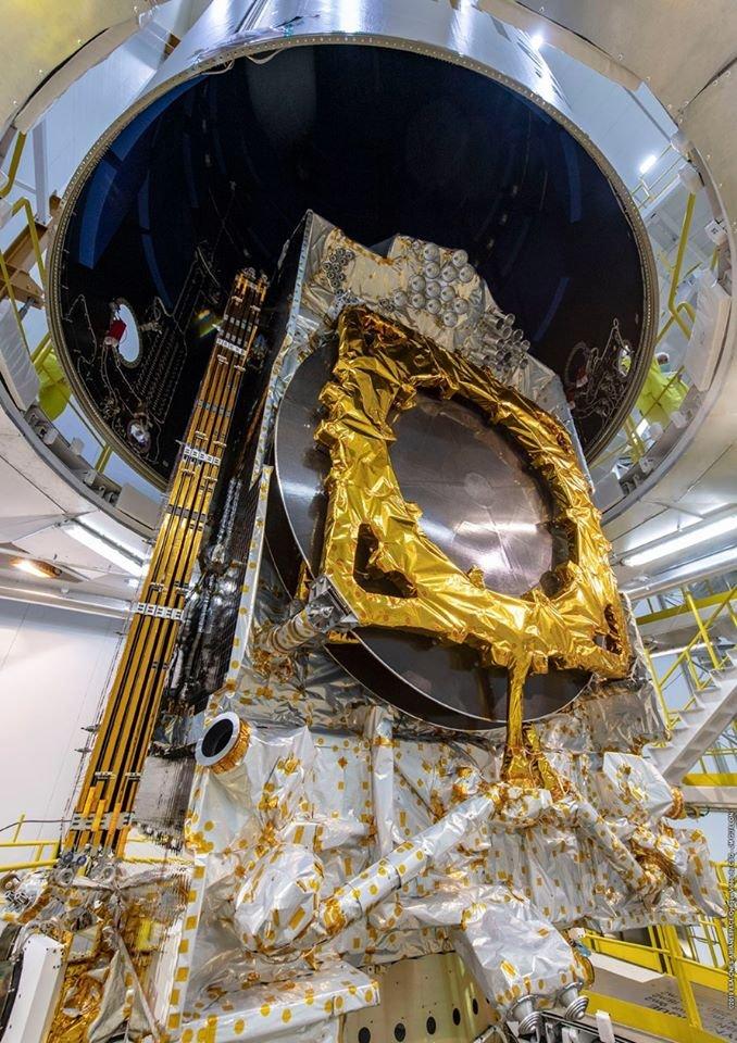 Ariane 5 VA251 (Eutelsat Konnect & GSAT 30) - 16.1.2020 2298