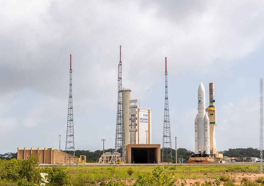 Ariane 5 VA251 (Eutelsat Konnect & GSAT 30) - 16.1.2020 2309