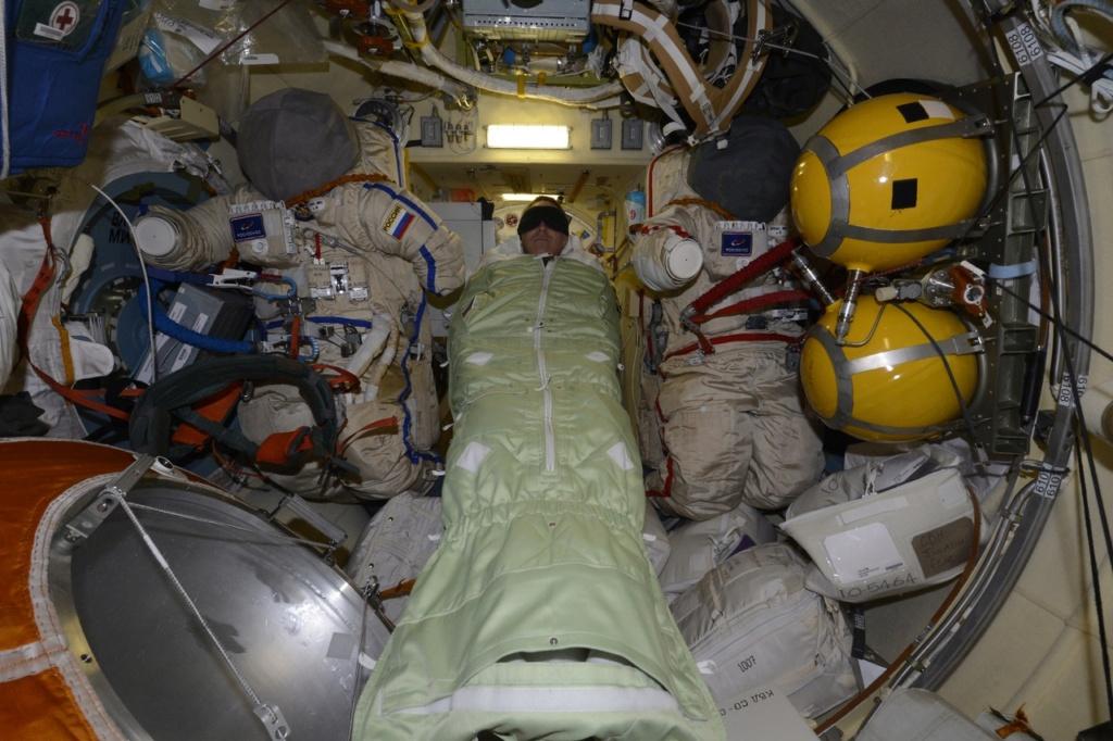 Une fuite d'air dans l'ISS 2377