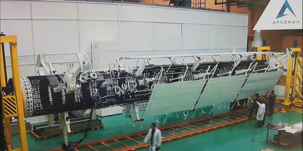"[Russie] Projet de complexe spatial ""Nuklon"" 2379"