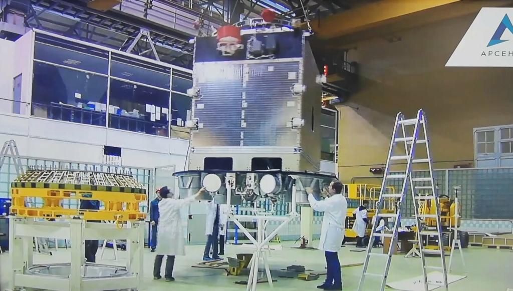 "[Russie] Projet de complexe spatial ""Nuklon"" 2380"