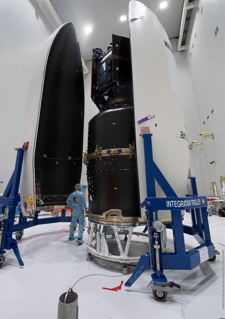 Vega VV17 (SEOSat-Ingenio & Taranis) - CSG - 17.11.2020 - Echec ! 2400