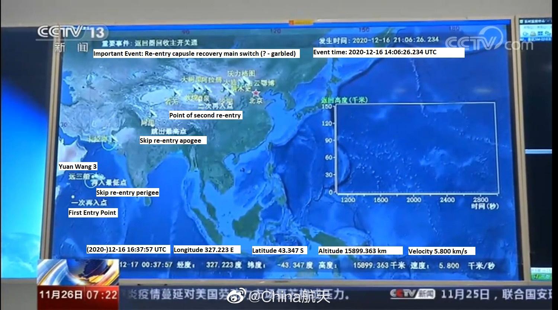 Suivi de la mission lunaire Chang'e-5 2411