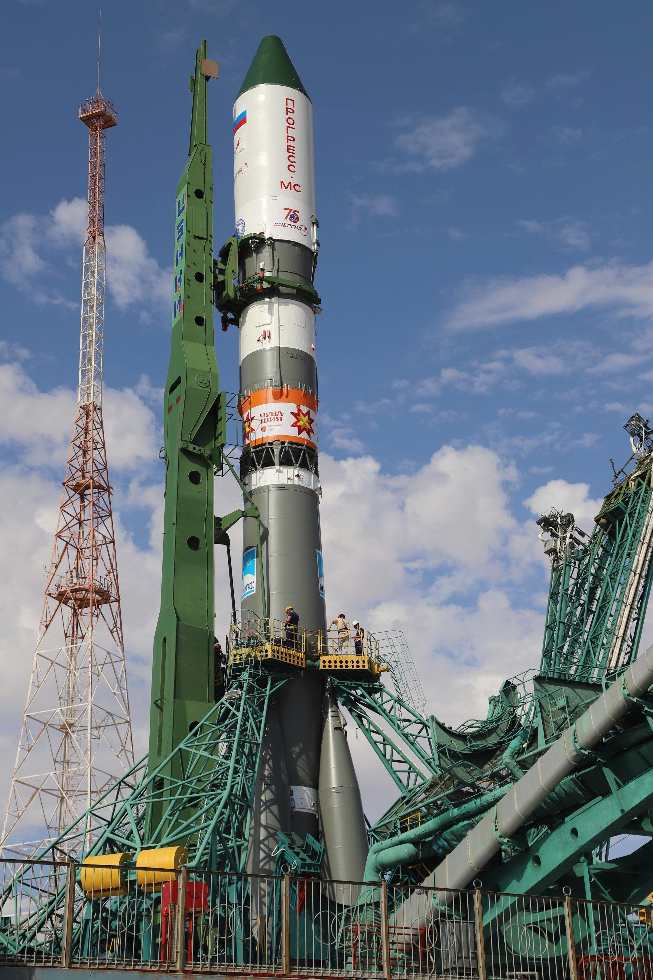 Soyouz-2.1a (Progress MS-17) - Baï - 29.6.2021 2505