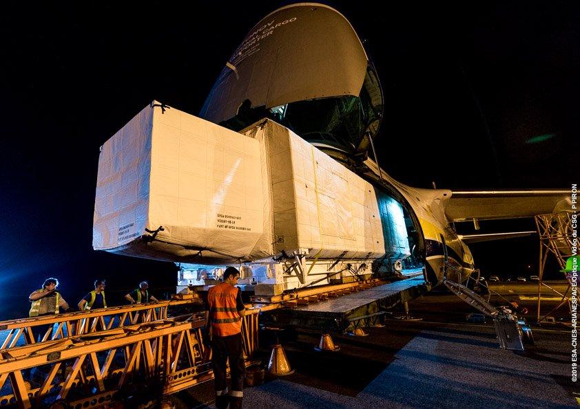 Ariane 5 VA247 (HS-4/SGS-1 + GSAT-31) - 5.2.2019 296