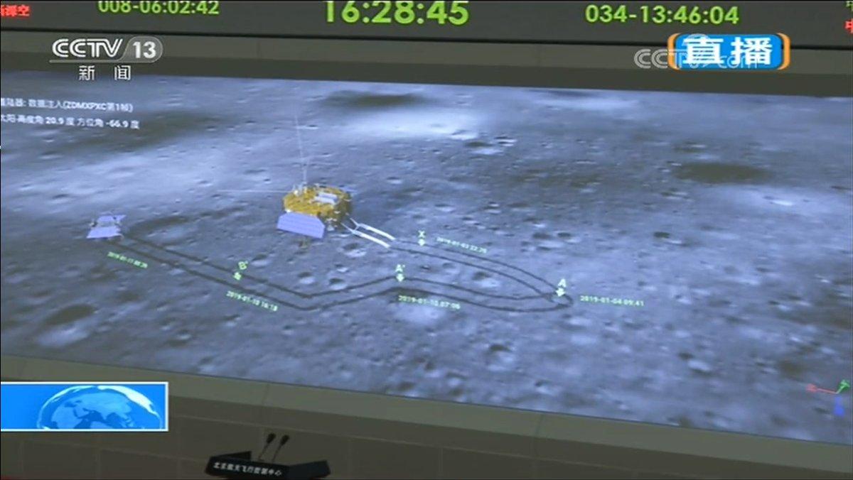 Chang'e 4 - Mission sur la face cachée de la Lune (rover Yutu 2) - Page 8 298