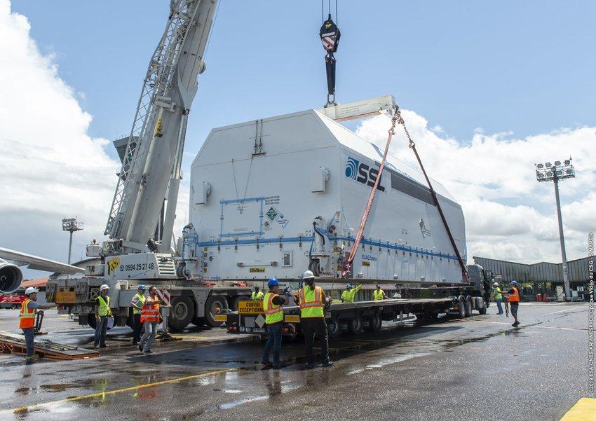 Ariane 5 VA249 (Intelsat 39 + EDRS-C/Hylas-3) - 6.8.2019   3111
