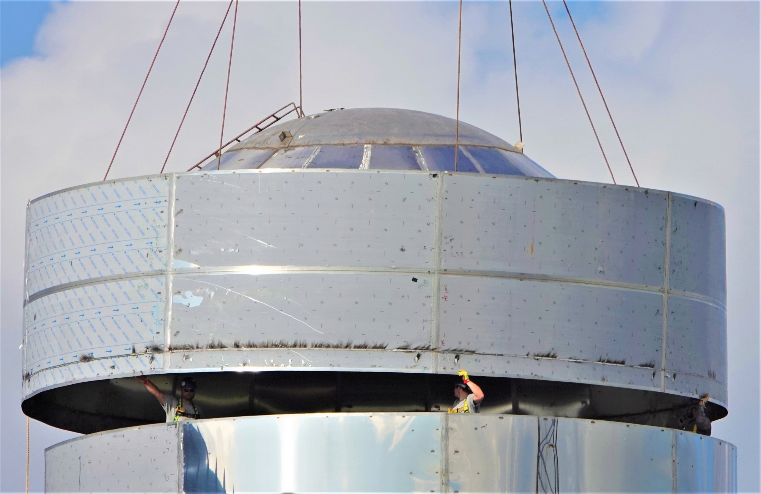 Starship - 1er prototype orbital Mk1 (Boca Chica) - Page 11 3132