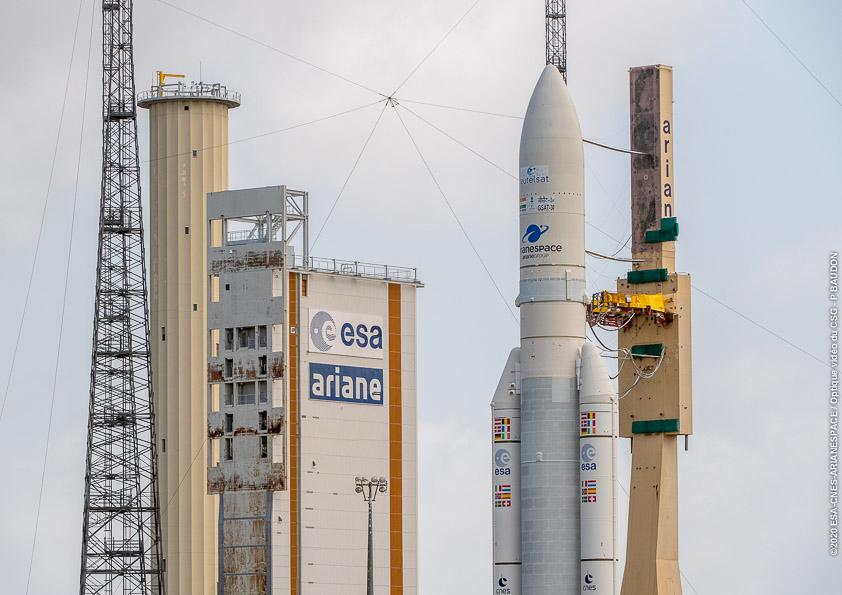 Ariane 5 VA251 (Eutelsat Konnect & GSAT 30) - 16.1.2020 3163