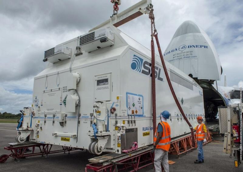 Ariane 5 ECA VA243 (Horizons-3e + Azerspace 2/Intelsat 38) - 25.9.2018 318