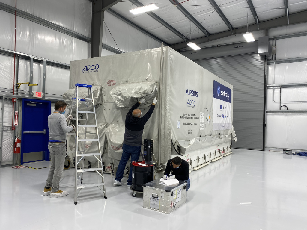 Falcon 9 (Sentinel-6A/Jason-CS 1) - VAFB - 21.11.2020 3196