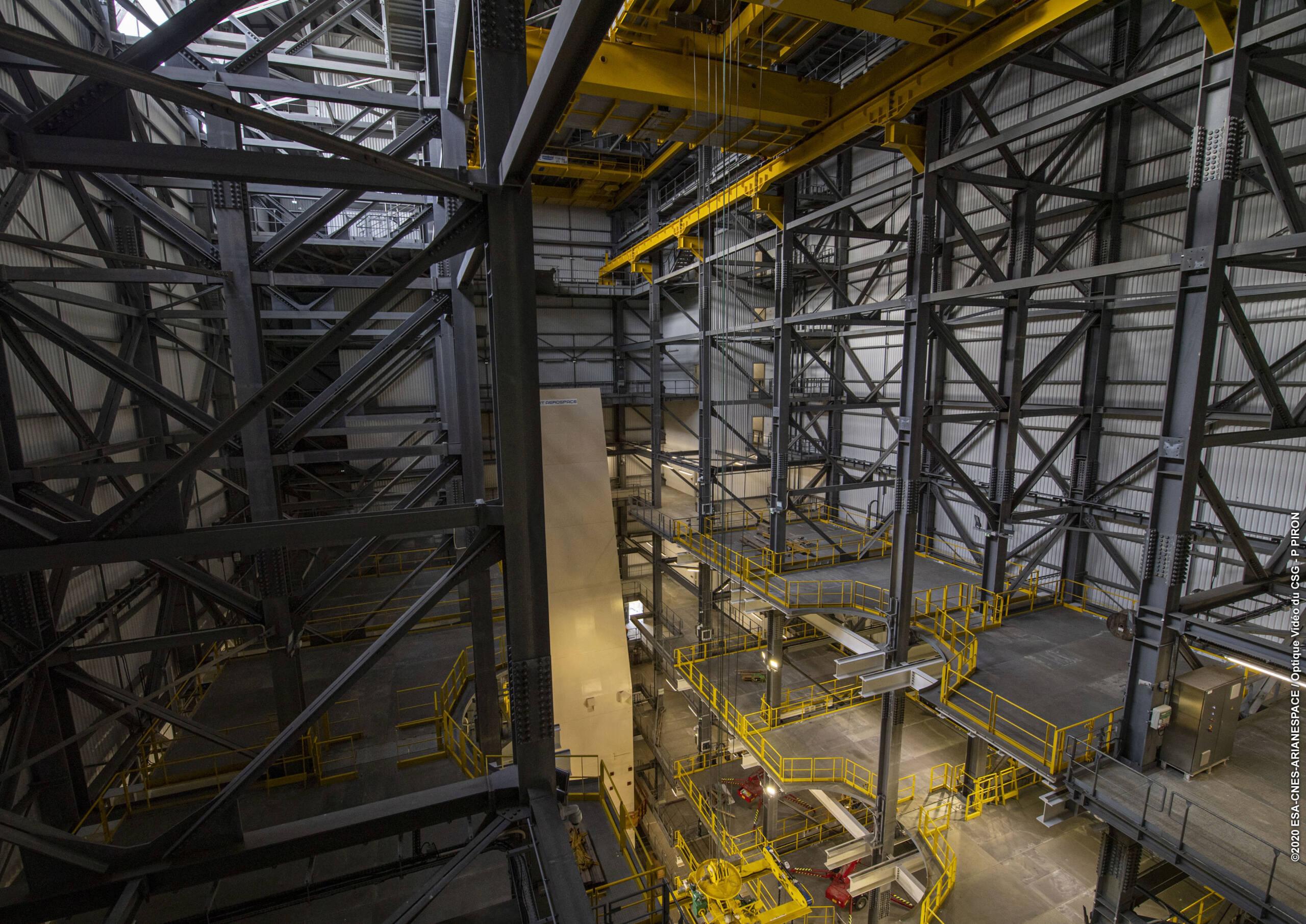 ELA-4 d'Ariane 6 - Suivi de la construction - Page 6 3213