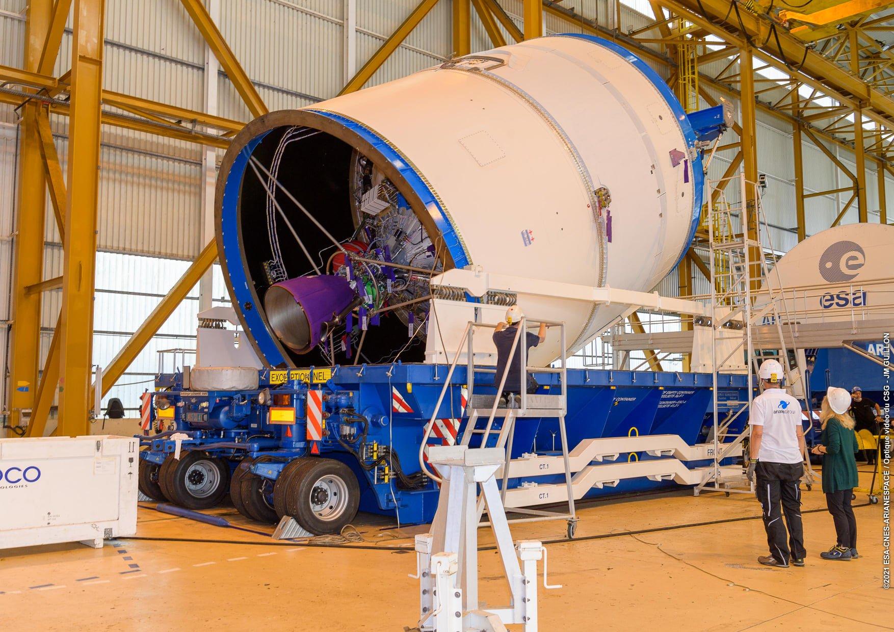 Ariane 5 VA254 (Star One D2 & Eutelsat Quantum) - CSG - 30.7.2021 3244