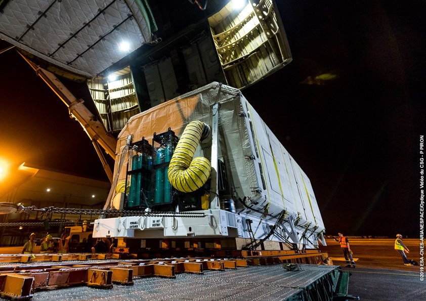 Ariane 5 VA247 (HS-4/SGS-1 + GSAT-31) - 5.2.2019 364