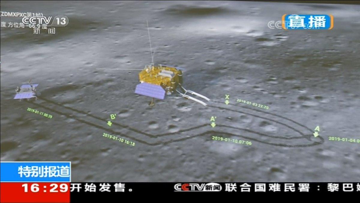 Chang'e 4 - Mission sur la face cachée de la Lune (rover Yutu 2) - Page 8 366