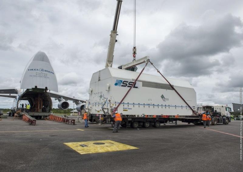 Ariane 5 ECA VA243 (Horizons-3e + Azerspace 2/Intelsat 38) - 25.9.2018 415