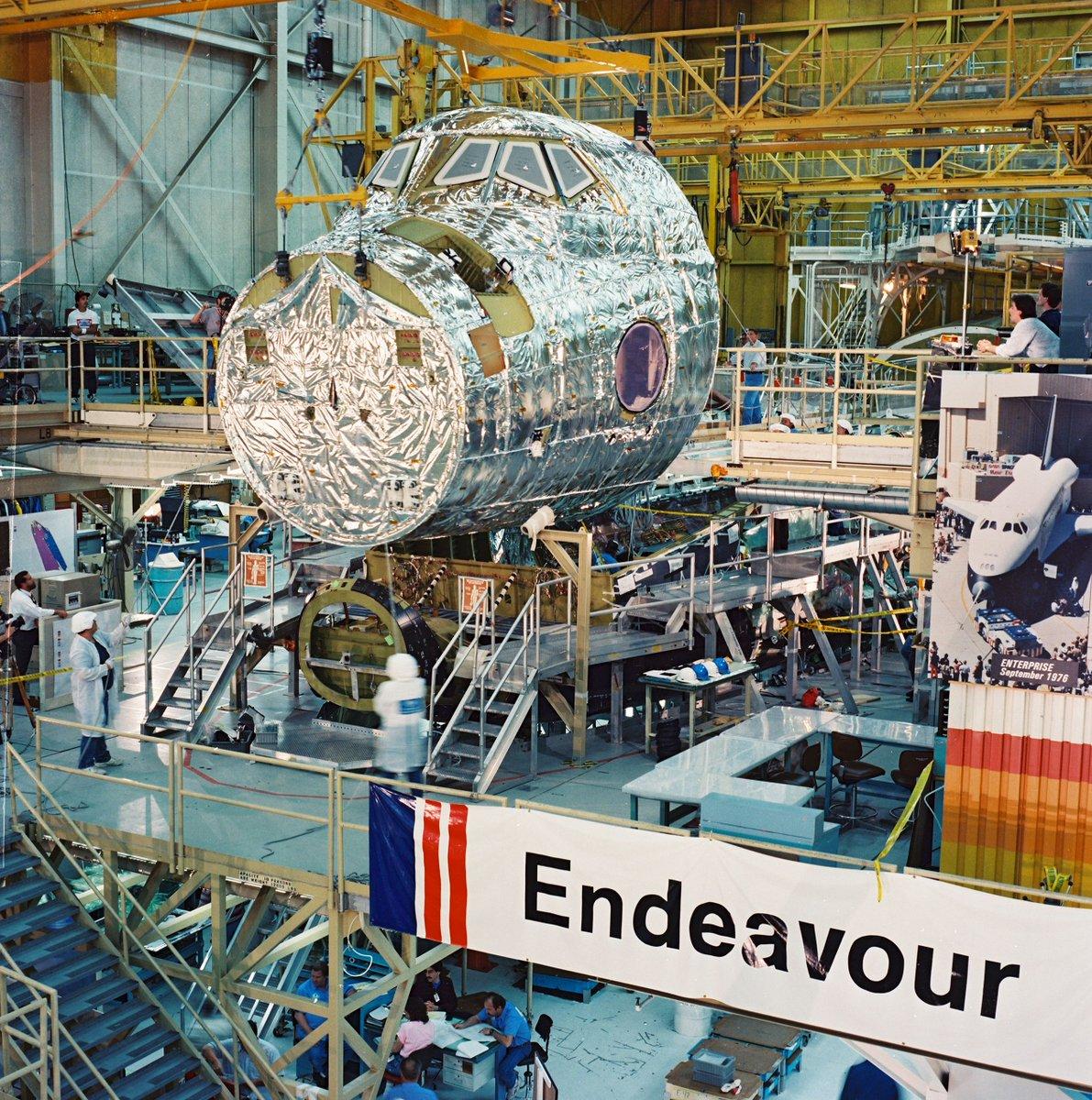 Naissance de la navette Endeavour 431
