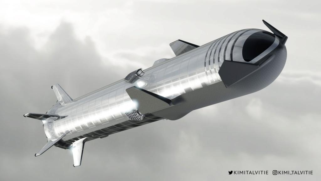 StarShip / SuperHeavy - Suivi du développement - Page 3 458