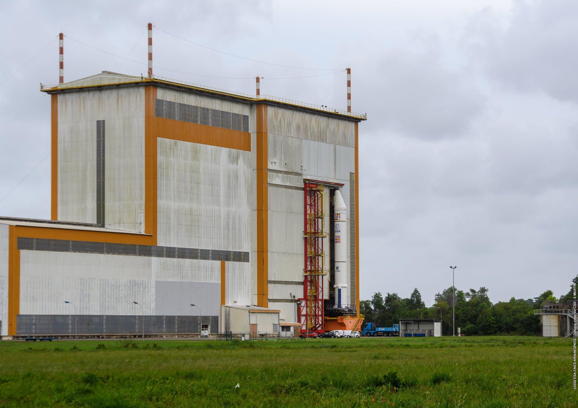 Ariane 5 VA254 (Star One D2 & Eutelsat Quantum) - CSG - 30.7.2021 488