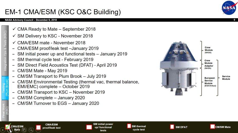 SLS block 1 (Orion Artemis-1) - NET novembre 2021 Em1_bi10