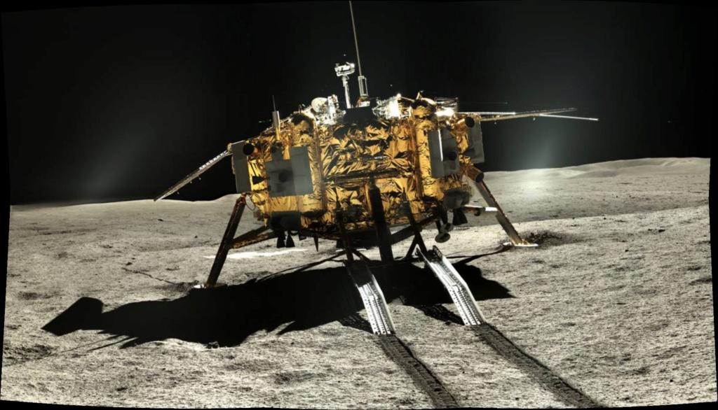 Chang'e 4 - Mission sur la face cachée de la Lune (rover Yutu 2) - Page 14 Pano112