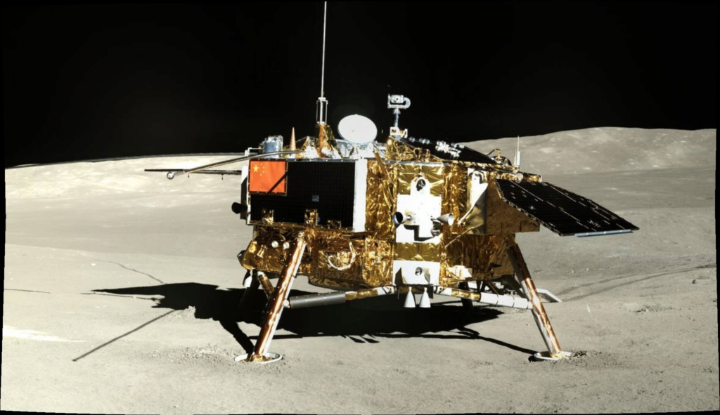 Chang'e 4 - Mission sur la face cachée de la Lune (rover Yutu 2) - Page 14 Pano12