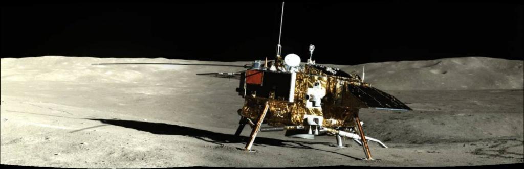 Chang'e 4 - Mission sur la face cachée de la Lune (rover Yutu 2) - Page 14 Pano211