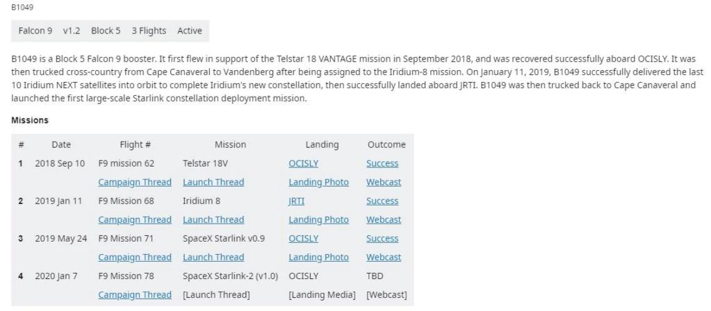 Falcon 9 (Starlink v1.0 L2) - CCAFS - 7.1.2020 - Page 3 Scre1092
