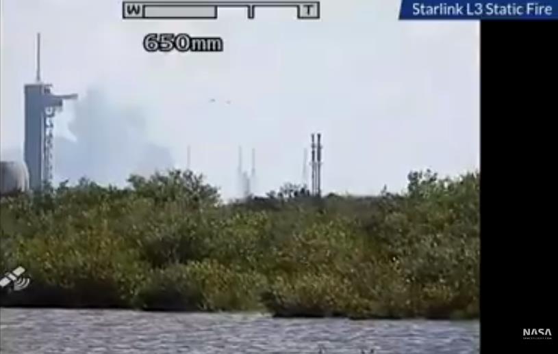 Falcon 9 (Starlink v1.0 L3) - CCAFS - 21.1.2020 Scre1139