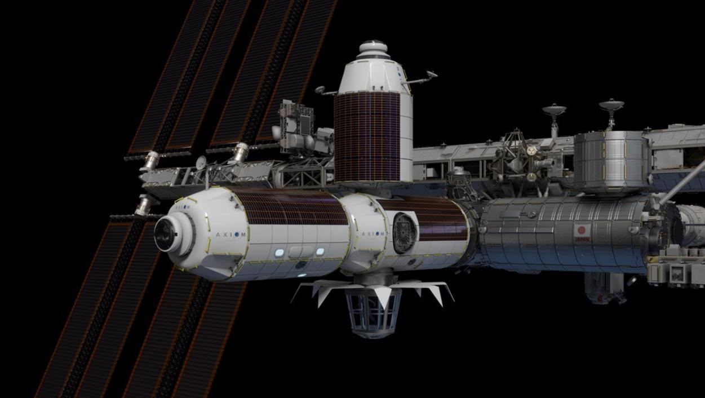 Axiom Space: un module sur l'ISS, puis une station spatiale privée Scre1144