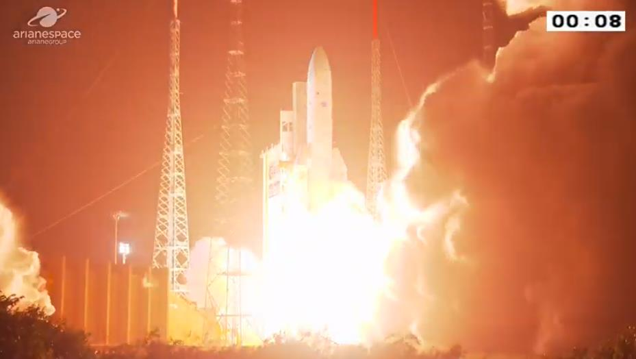 Ariane 5 VA252 (JCSat-17 & GEO-KOMPSAT-2B) - 18.02.2020  Scre1180
