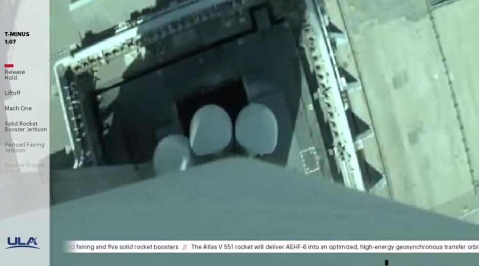 Atlas V (AEHF-6) - CCAFS - 26.03.2020 Scre1227