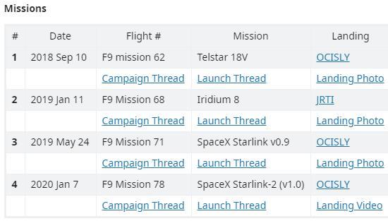 Falcon 9 (Starlink v1.0 L7) - CCAFS - 4.6.2020 Scre1377