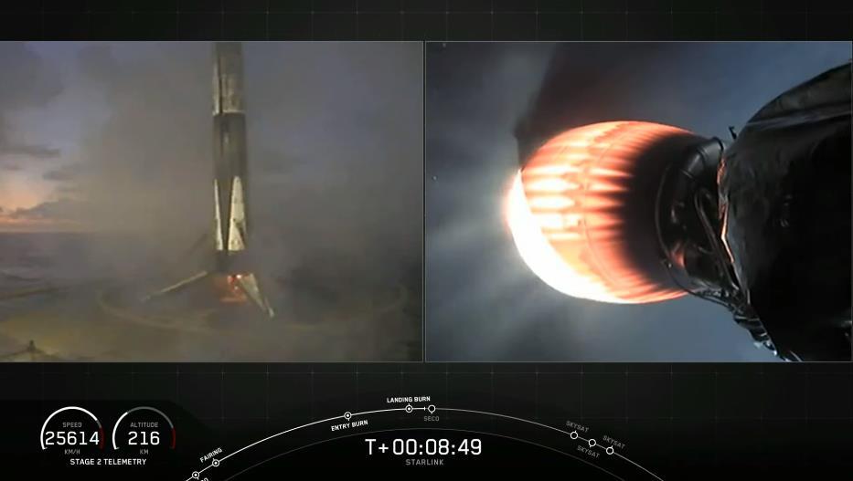 Falcon 9 (Starlink v1.0 L8) - CCAFS - 13.6.2020 - Page 2 Scre1423