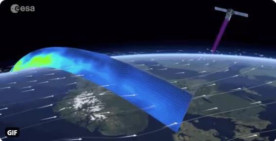 Aeolus - Satellite d'observation de l'atmosphère terrestre Scre1438