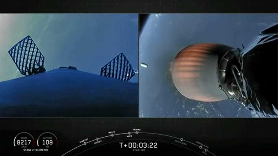 Falcon 9 (Starlink V1. 0 L11)- KSC - 3.9.2020 [Succès] - Page 2 Scre1534