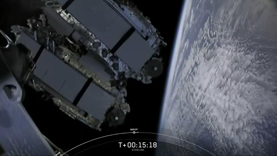 Falcon 9 (Starlink V1. 0 L11)- KSC - 3.9.2020 [Succès] - Page 2 Scre1537