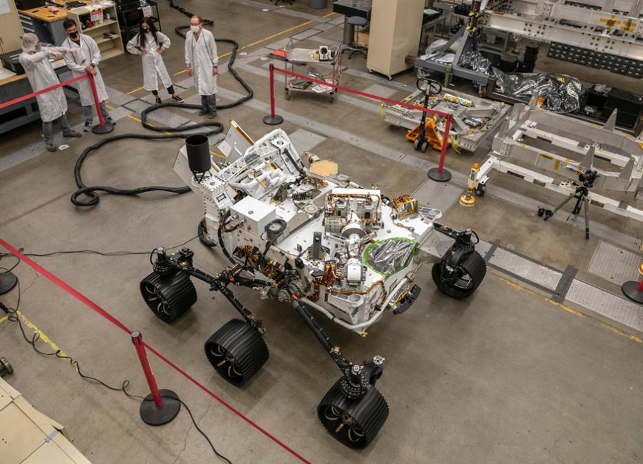 """Préparation du rover Mars 2020 """"Perseverance"""" - Page 15 Scre1554"""
