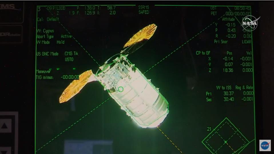 Antares 230+ (Cygnus NG-14 S.S. Kalpana Chawla) - WFF - 3.10.2020 - Page 2 Scre1586