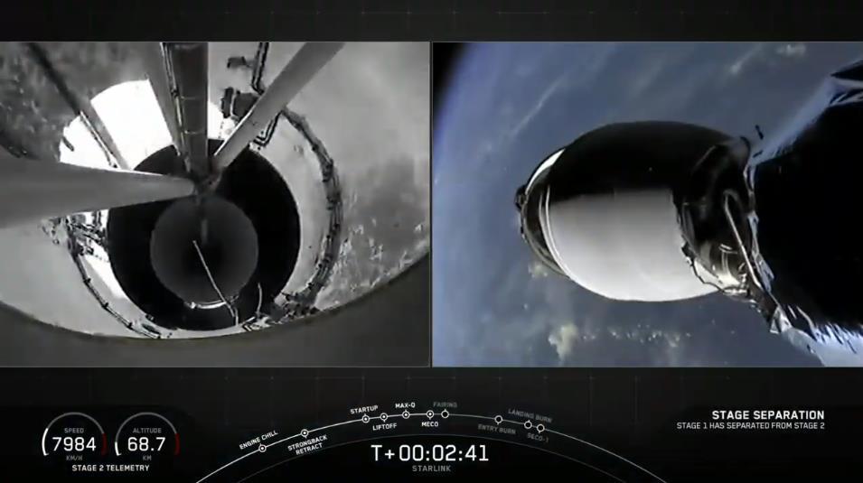 Falcon 9 (Starlink v1.0 L12) - KSC - 6.10.2020 - Page 4 Scre1600